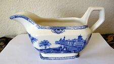 ANTIQUE ADAMS ENGLAND GRAVY BOAT LANDSCAPE THEME  EXTRA NICE TAKE A PEEK