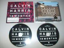 Calvin Harris - 18 Months (2 CD Set) 28 Tracks - Mint - Fast Postage