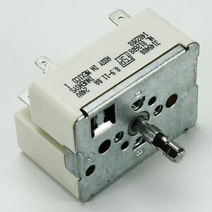 Infinite Switch for Range Whirlpool 3149400 Replacement for FSP OEM Invensys.