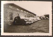 RASTATT ? PHOTO TROUPES FRANCAISES EN ALLEMAGNE PARC AUTOMOBILES TOA 1947 ,
