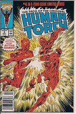 Marvel Comics! The Saga of the Original Human Torch! Issue 4!