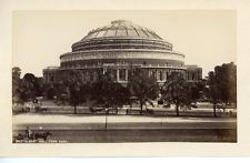 Angleterre, Londres, Albert Hall Vintage albumen Print Tirage albuminé  11x1