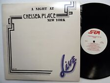 A Night At CHELSEA PLACE New York 2LP Near-MINT Electronic,Jazz,Funk/Soul 1985