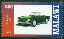 TRIUMPH TR6 Sports Car Automobile Mint Stamp