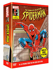 SPIDERMAN: Complete 1994 Series 1-5 ALL Episodes DVD Boxset Region 2 UK Rare NEW