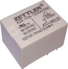 American Zettler Relay 12V 12VDC 6A SPDT AZ8-1CH-12DEA