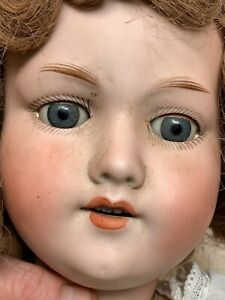 """Armand Marseille 24""""~Germany #390~Bisque~Open mouth~sleep Eyes~Victorian whites"""