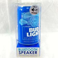 Bud Light Bluetooth Beer Can Speaker For Smartphones, tablets & MP3