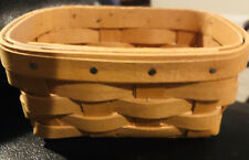 1998 Longaberger Father's Day Business Card Basket