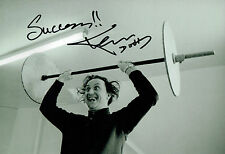 Ken DODD SIGNED Autograph 12x8 Photo AFTAL COA Liverpool Comedian Diddy Men