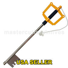 "Kingdom of Hearts Sora's Keyblade FULL METAL Video Game Replica Cosplay 35"" Long"
