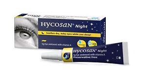 Hycosan Nacht 5g Augen Salbe Mit Vitamin A - Für Trockene Auge