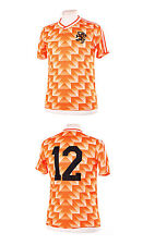 NETHERLANDS NEDERLAND HOLLAND 1988 VAN BASTEN 12 REPLICA FOOTBALL SHIRT SMALL S