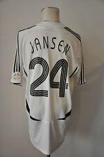 2006 Deutschland Trikot #24 Jansen Gr. XL Adidas WM DFB Home Germany EM RAR