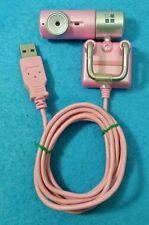 WEBCAM PC G-CUBE GWT-835C ROSA USB MICROFONO LUZ LED VGA