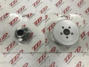 "ZZPerformance LSJ Supercharger Modular Pulley System 3.1"" 2005-07 Cobalt Ion"