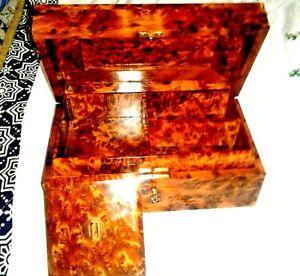 new jewelry box thuya wood handmade in moroco  storage box gift box