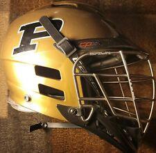 Player-Worn Official Purdue Lacrosse Helmet
