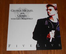 George Michael and Queen Lisa Stansfield Promo 1993 Poster 2-Sided Flat 12x12
