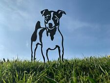 More details for jack russell rusty dog metal garden art