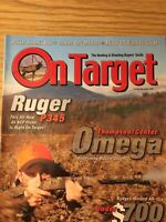 On Target Oct/ Nov 2004, Ruger P345, Thompson Omega