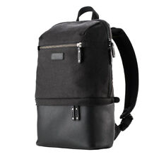 Tenba Cooper DSLR Backpack Luxury Canvas with Leather Accents