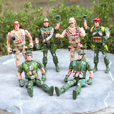 Plastik Militär Armee Polizei Soldat Figuren Militär Modell.Spielzeug 9cm&L