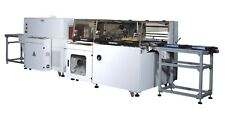 TeleSonic Packaging Automatic Side Sealer and Shrink Wrapper/Tunnel Pack System