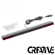 Sensor Bar For Nintendo Wii & Wii U With Stand - Wired Infrared Receiver