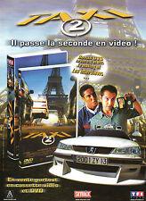 Publicité Advertising  2000 TAXI 2  en vidéo radio skyrock TF1 vidéo