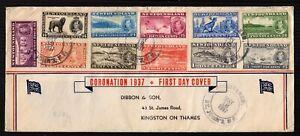 Old Cover 1937 Newfoundland Canada