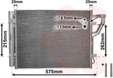 Kondensator, Klimaanlage für Klimaanlage VAN WEZEL 82005189