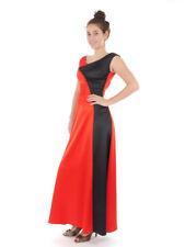 Richard Kravetz Kleid Abendkleid Red-Carpet Kleid rot A-Linie lang