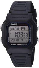 Casio Men's W800H-1AV Classic Sport Watch con banda nera