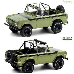 1/18 Greenlight Ford Bronco Sport 1975 Vert Roues Sunraysia Livraison Domicile