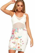 Mesh Stretch Floral Dresses for Women
