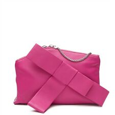 MIMCO In The Fold Clutch Bag Genuine Leather Cerisse Tag Dustbag