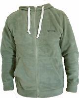 Regatta Mens Full Zip Hoodie Casual Fleece Hooded Jacket Top Light Olive