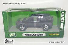 ERTL Land Rover Freelander Compact SUV L314 Black Gray & Teal RHD 7897 1/18 NEW!