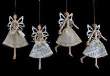 Adornos Gisela Graham de ángel para árbol de Navidad