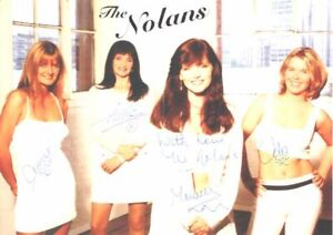 The Nolans - Singers - Signed Poster - COA (4903)
