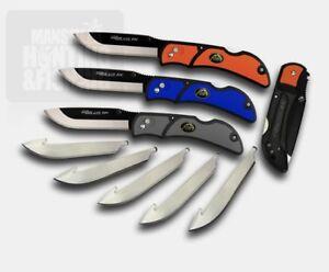 OUTDOOR EDGE RAZOR-LITE EDC HUNTING KNIFE - NEVER SHARPEN YOUR KNIFE AGAIN!