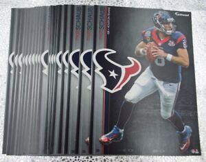 "Matt Schaub 5 Fathead Houston Texans NFL 7"" Decal Raiders Ravens Atlanta Falcons"