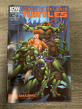 TMNT #34(IDW) : AMAZING! COMIC CON EXCLUSIVE COVER : NM : VERY RARE!