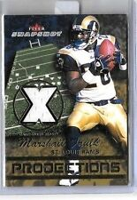 MARSHALL FAULK 2003 FLEER SNAPSHOTS PROJECTIONS GAME USED JERSEY