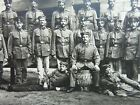 Company of older WW1 German soldiers. Original Photograph (46)