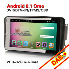 Android 8.1 Autoradio Navi DAB+GPS Mercedes Klasse C/G/CLK W203 W209 Viano Vito