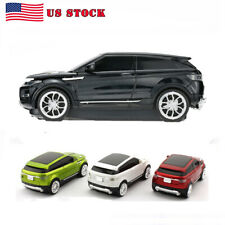 3d 2.4Ghz Wireless Mouse Optical Range Rover Car Laptop Mice +USB Receiver Gift