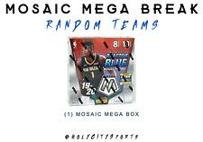 2019-2020 Panini Mosaic Mega Box Basketball Random Team LIVE BREAK