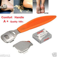 Callus Corn Hard Dead Skin Remover Cutter Shaver Pedicure Foot Tool + 10 Blades
